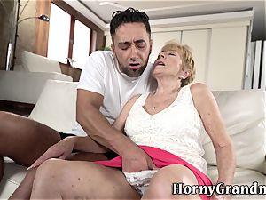 senior granny vulva plumbed
