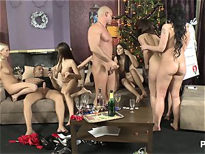 The lovemaking Game before Christmas sequence three