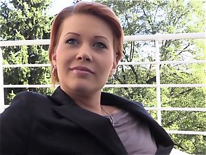 QUEST FOR orgasm - sensual onanism with Czech stunner