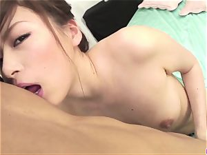 Top Keito Miyazawa enjoyments with man-meat in each fuck hole