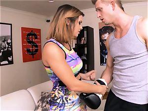 Keisha Grey gets busy with her BFFs man