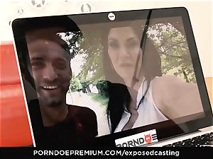uncovered casting Jasmine Jae porked in hot audition