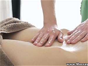 massage X - anal invasion on rubdown table