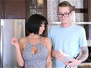naughty mother Veronica Avluv boning her sons-in-law nasty acquaintance