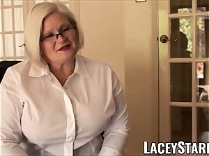 LACEYSTARR - enslaved GILF bum rammed by Pascal white