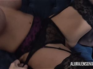 Alura and her huge-chested lesbo friend Dolly get kinky