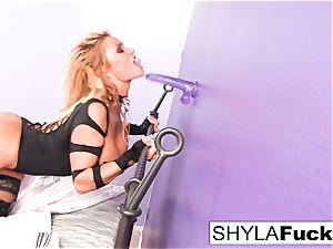 Shyla Stylez boinks herself with a fucktoy