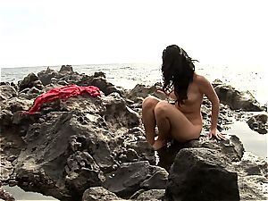 nude at the delectation cove