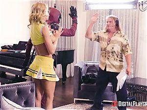 Jessa Rhodes gets boinked by suspended superhero