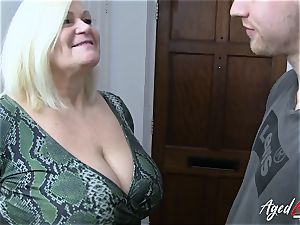 AgedLovE hard-core with scorching Mature Lacey Starr