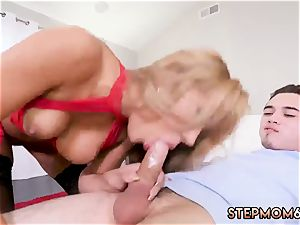 No forearms suck off gonzo super-steamy mummy plowed Delivery stud