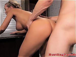 Nicole seducing some random fellow
