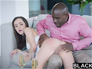 BLACKED young intern embarks a steaming arrangement with a sugar daddy