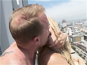 Alexis Texas torn up from the heights