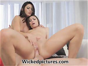 Victoria Lawson and Nikki Daniels in a steamy fuckshare