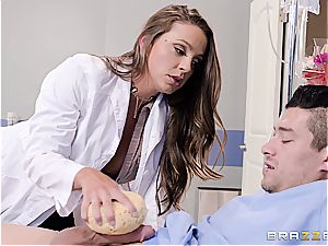 doctor Abigail perceives kinky when it comes to immense dongs