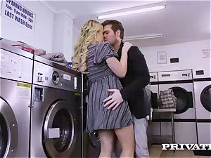 Private.com - Mia Malkova gets poked in the laundry