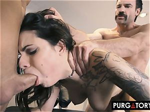 PURGATORY I let my wife penetrate two boys in front of me