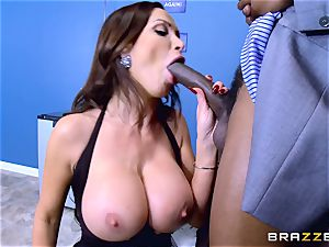 Elections and hefty dark-hued fuckpole erections for Nikki Benz