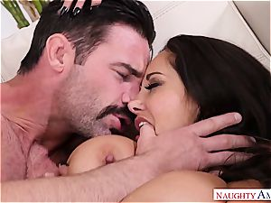 Ava Addams torn up by her friend's hubby