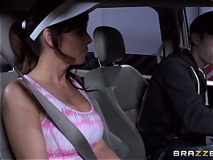 jaw-dropping stepmom Syren Demer romps her stepsons phat penis