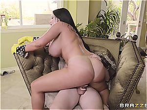 curvy mother Sybil Stallone takes son-in-law for a ride