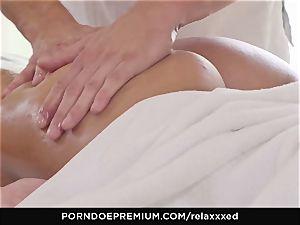 RELAXXXED - Amirah Adara erotic rubdown and steaming intercourse