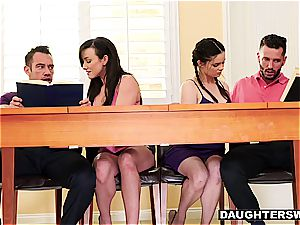 frolic daughters-in-law have something more arousing than tutoring in mind