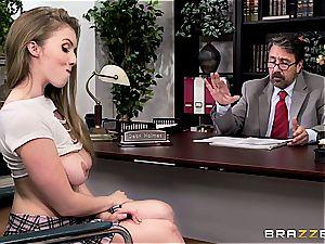 schoolgirl Lena Paul porks her dean