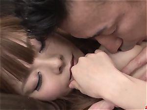 Anri Sonozaki wants to guzzle after such strong hard-core pla