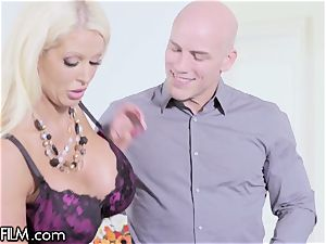 cougar Alura Jenson surprised By husband