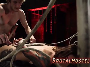 brutish punishment excited young tourists Felicity Feline and Jade Jantzen are