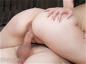 Bree Daniels gets penetrated on the floor