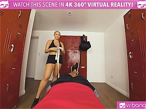 VRBangers.com sizzling honey sweaty screwing Her Boxing Coach