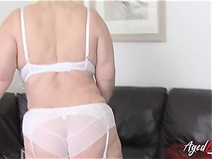 AgedLovE chesty Lacey Starr hardcore and blow-job