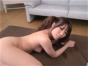 Chisa Hoshino gives head in point of view then plumbs rock-hard - More at JavHD.net