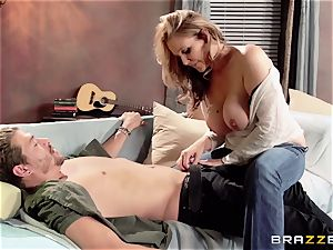Julia Ann displays her sonnies buddy a great time