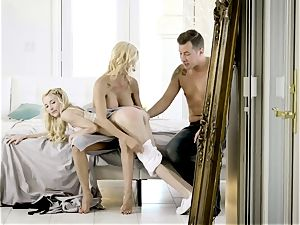 jism longing Alexis Fawx and Piper Perri mess with Jessy