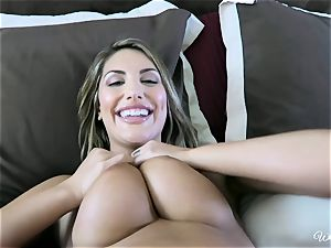August Ames and Kenna James getting tasty on webcam