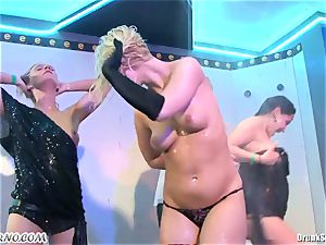 lustful married housewives like to ease off in porn clubs