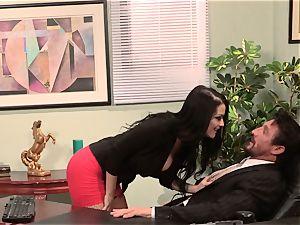 secretary Katrina Jade pounds her super-hot manager at work
