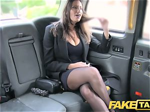 fake taxi steaming buxomy stunner gets fat jizz shot