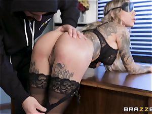 Karma Rx takes puss humped in the office