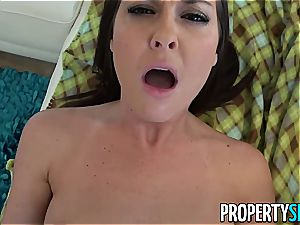 nasty realtor busted watching pornography movies