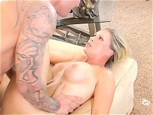 Devon Lee honey getting mans man milk split in her facehole