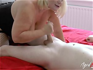 AgedLovE xxx bang-out with Mature Lacey Starr
