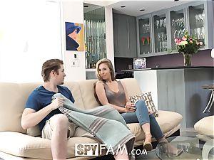 SpyFam Step sista Lena Paul porks step bro