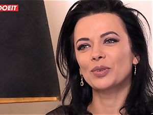 LETSDOEIT - Romanian ultra-cutie Creamed By a French jizz-shotgun