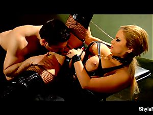 big-chested Shyla Stylez gets a superb ass fucking plowing
