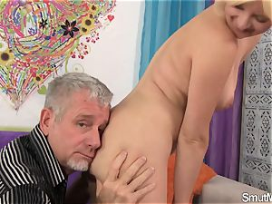 blonde dame takes thick wood and facial cumshot